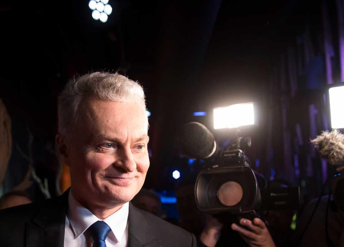 Gitanas Nauseda blir Litauens näste president.