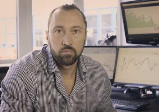 Andreas Hurtig, 39, daytrader och investerare