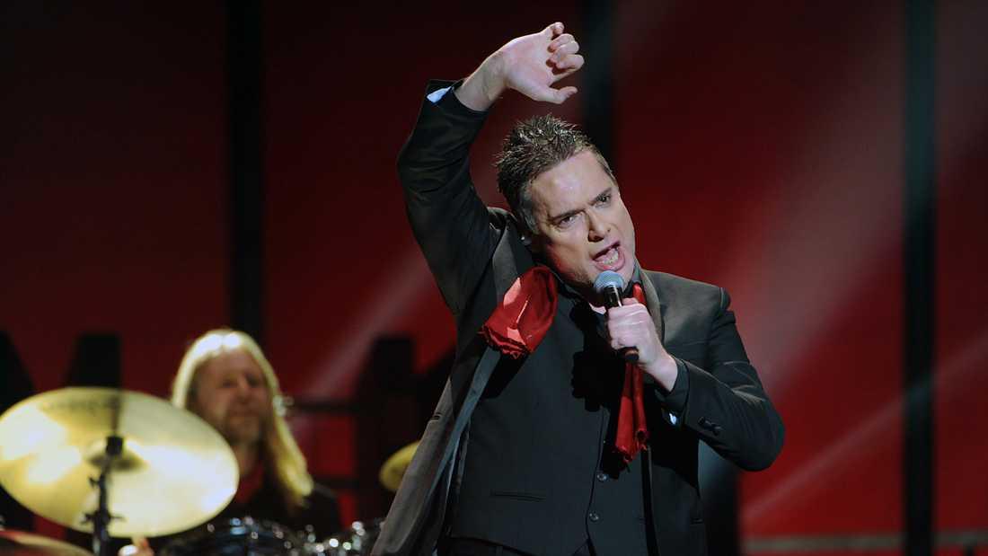 Thorsten Flinck i Melodifestivalen 2012.