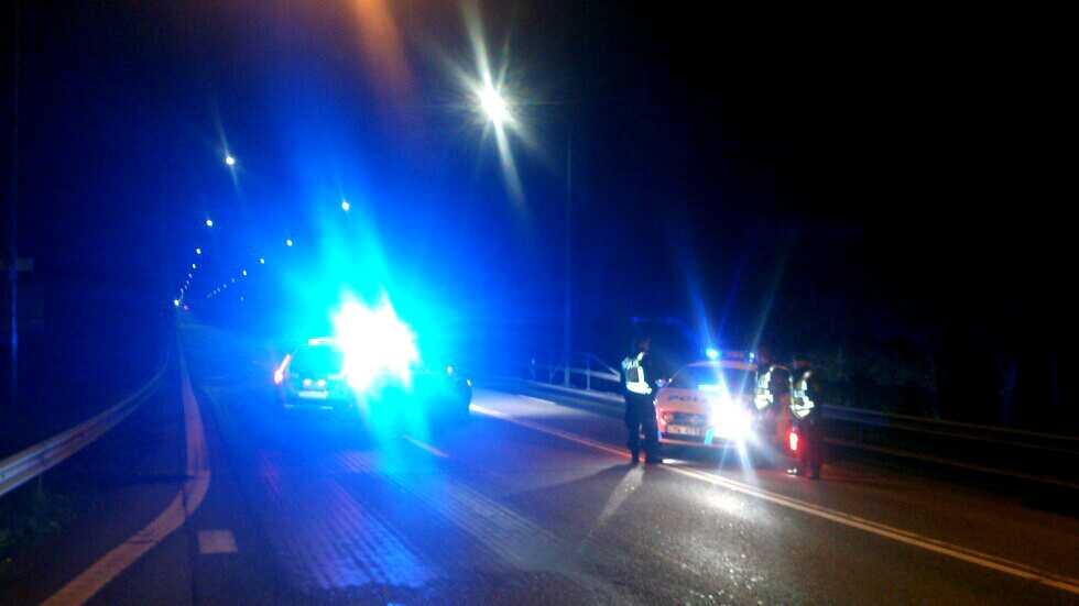 Polisen sökte efter den misstänkte barnamördaren på Öland