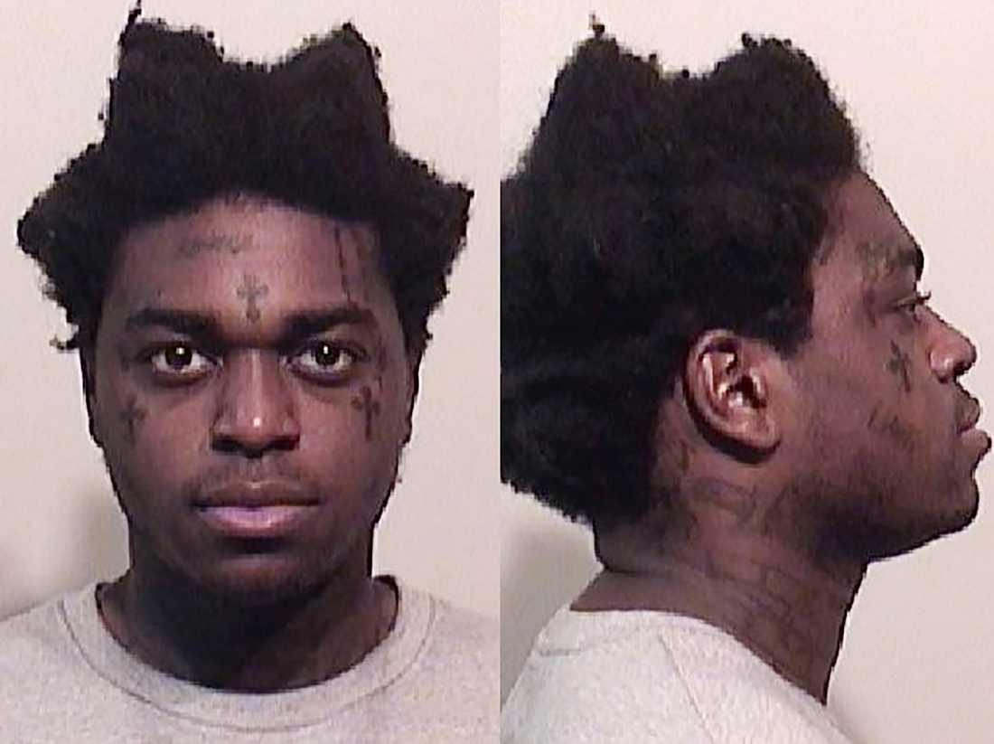 "Kodak Blacks ""mugshot"" hos polisen i Niagara county."