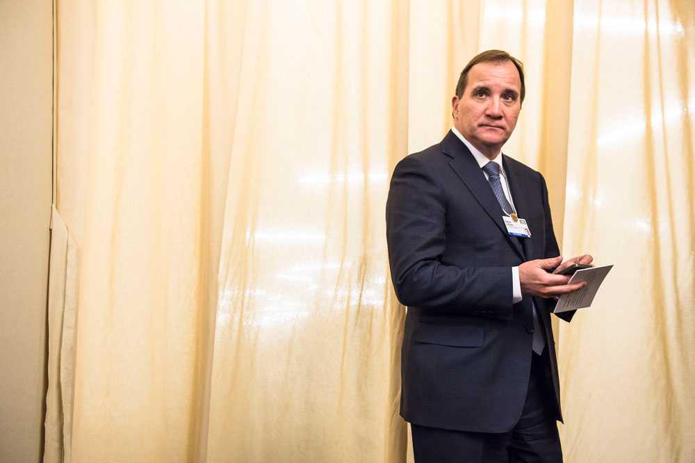 Statsminister Stefan Löfven har en hård intern strid att vänta.