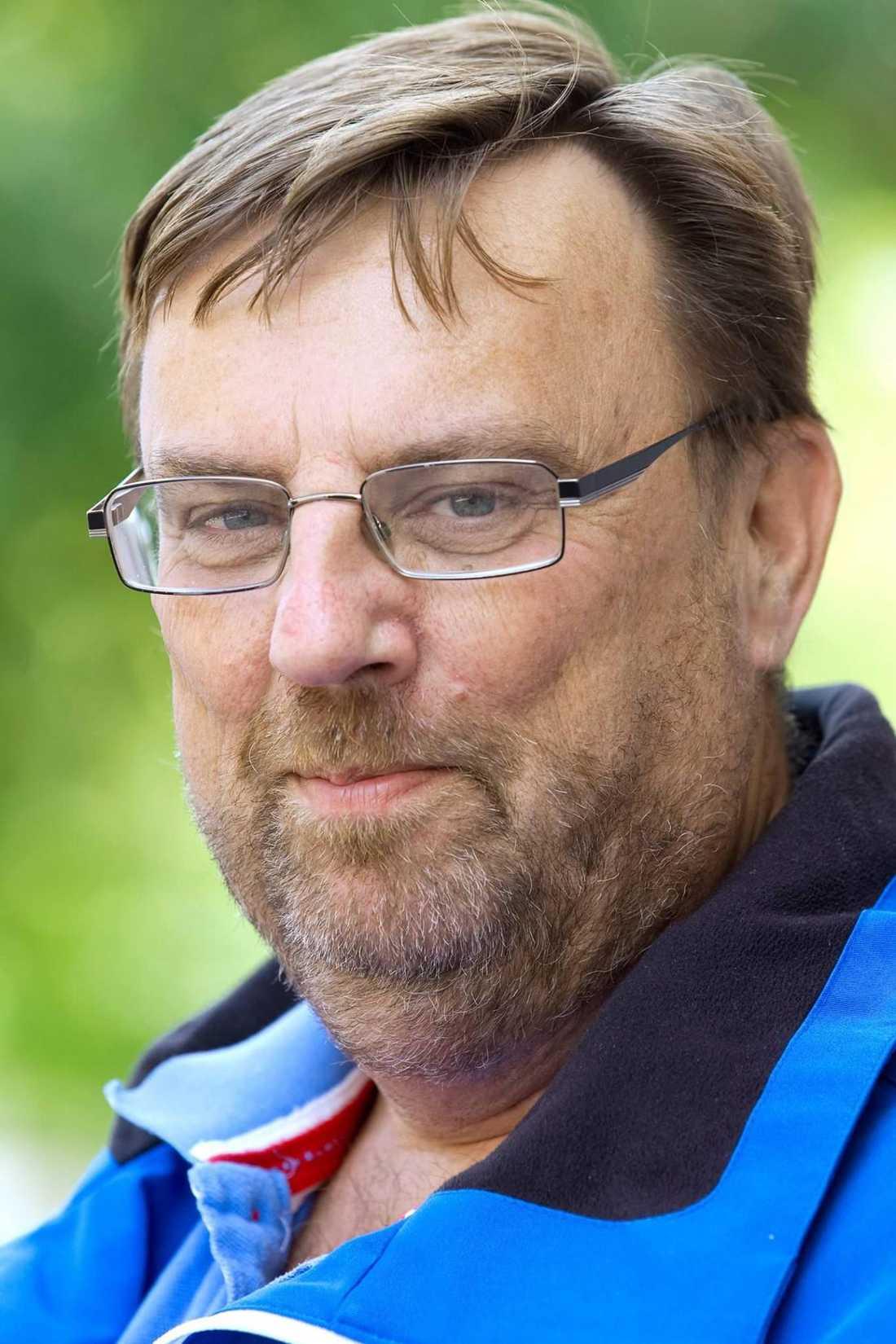 Lasse Wennman startade Matakuten för att ta tillvara på butikernas matsvinn och ge behövande mat i magen – varje dag.