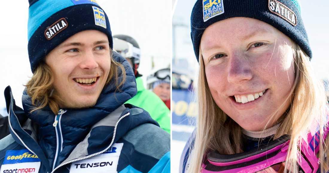 Erik Mobärg och Sandra Näslund