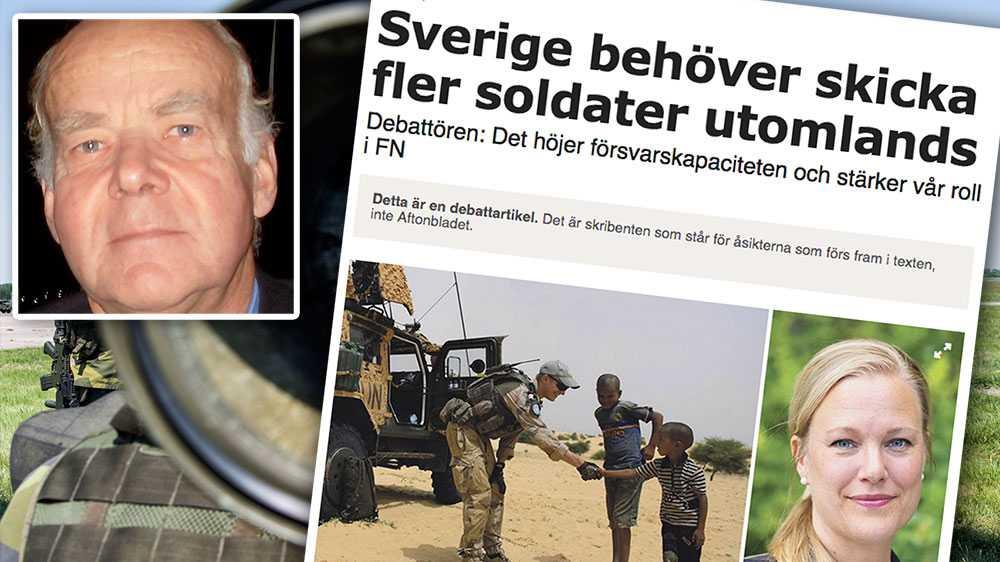 Militäryrket måste göras attraktivt för dem som vill värna Sverige, inte – som Börjesson menar – för personer som allmänt vill kriga utanför Sveriges gränser, skriver Lars-Gunnar Liljestrand.