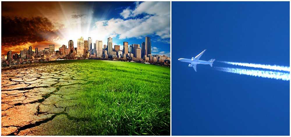 Endast 10 procent av svenskarna kan tänka sig att sluta flyga för att skona miljön.