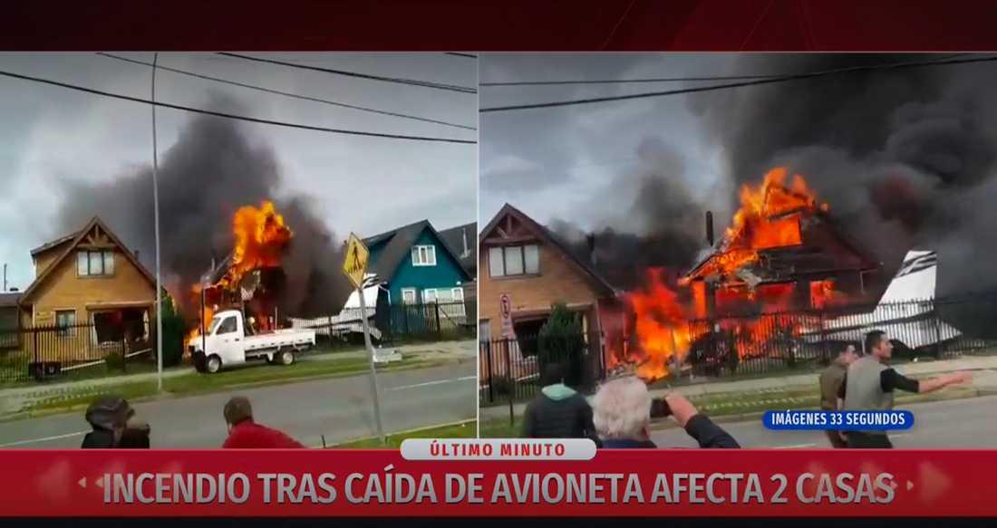 Sex personer dog i flygolyckan i Chile.