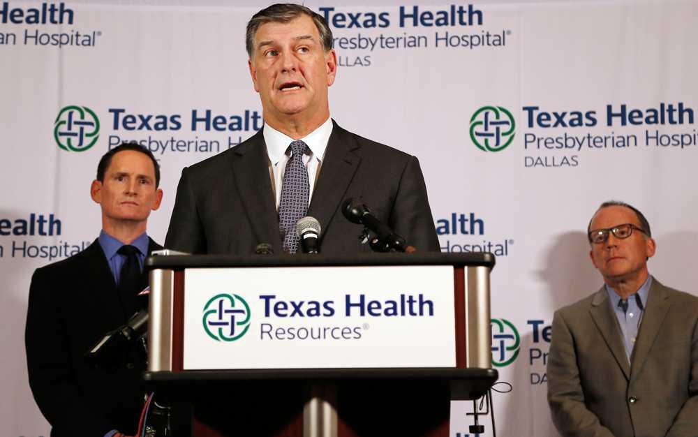 Borgmästaren i Dallas  Mike Rawlings om den smittade sjuksköterskan