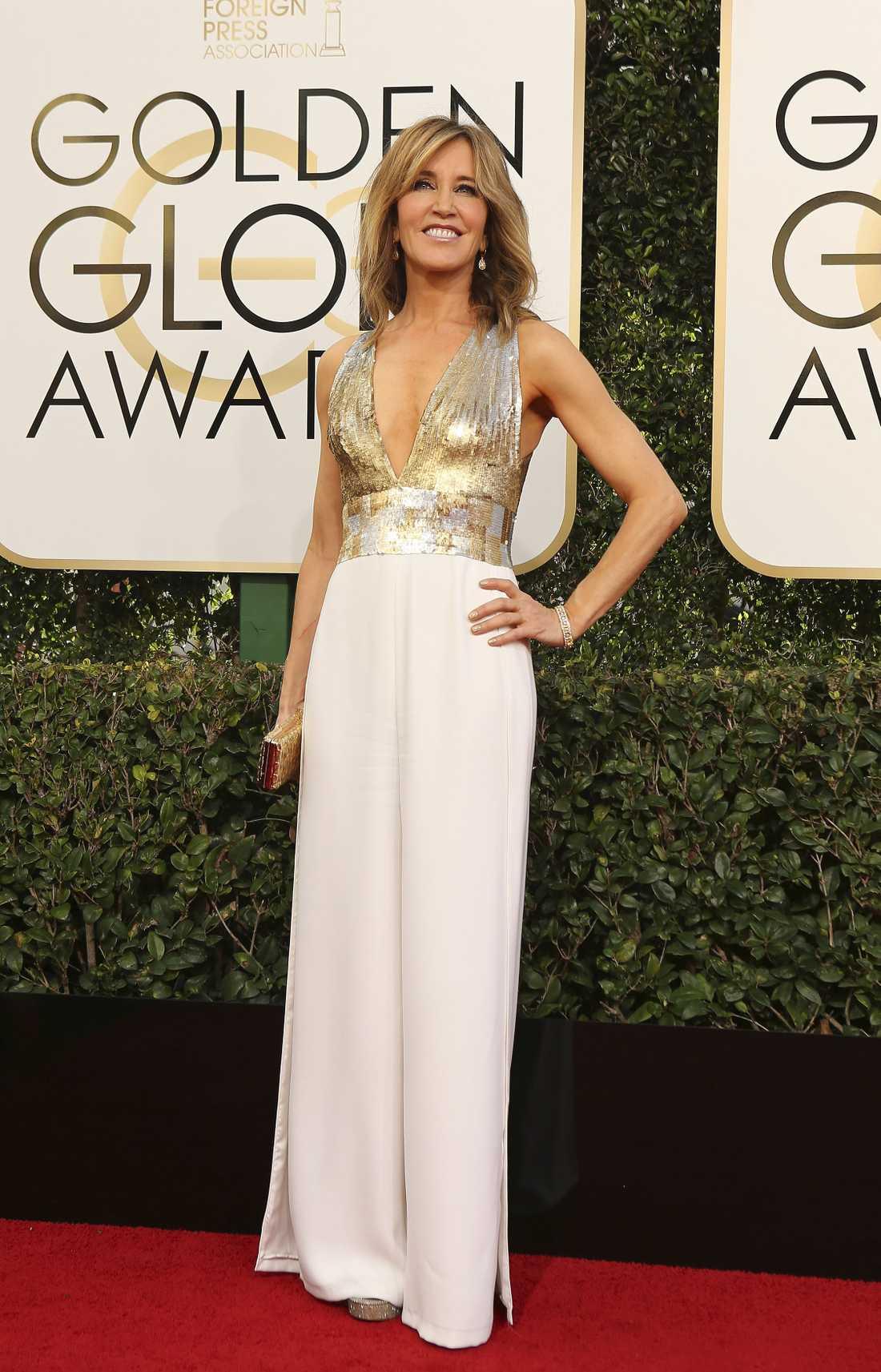 Felicity Huffman på Golden Globe-galan 2017.