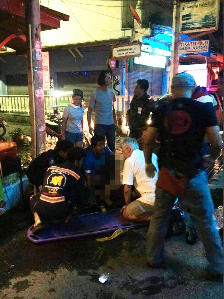 Explosion i Hua Hin, Thailand