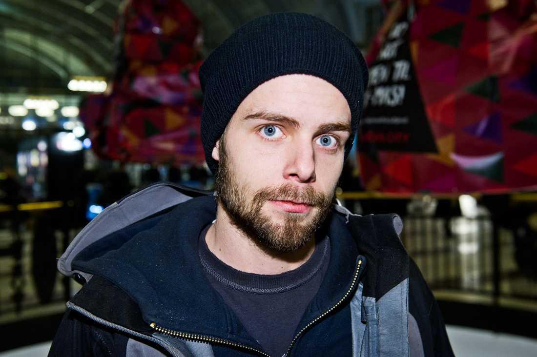 """Vågar du dricka läsk? Fredrik Cedervall, 24, egenföretagare, Botkyrka: """"Ja, det är inga problem."""""""