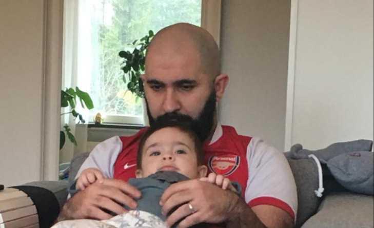 Sinan och Noah.