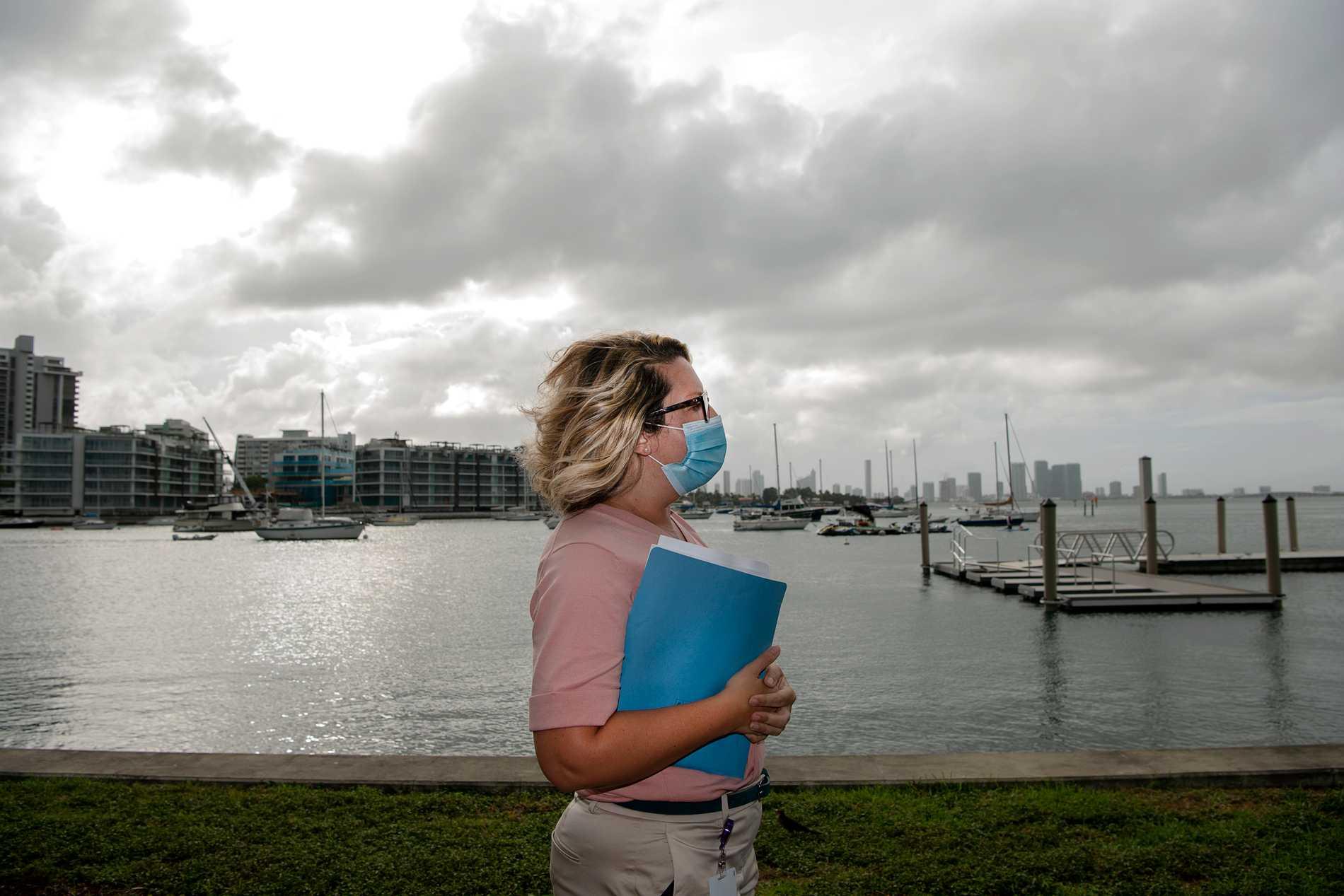 Amy Knowles är chef för Miami Beachs hållbarhetsarbete