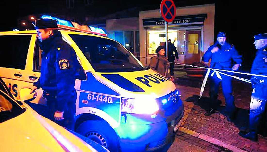 utfrågade – när som helst Polisen i Malmö kontrollerar alla män som stämmer överens med den nye lasermannens signalement.