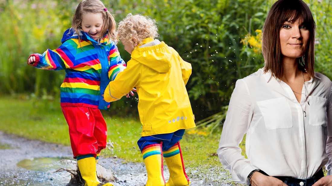 Allt är som vanligt på förskolan, barnens lekar och konflikter pågår som om ingenting har hänt.