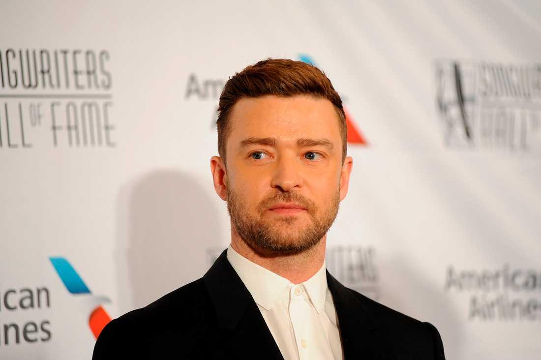 Artisten och skådespelaren Justin Timberlake. Arkivbild.