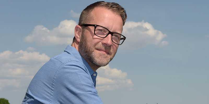 Anders Malmrot, sportchef på Solvalla.