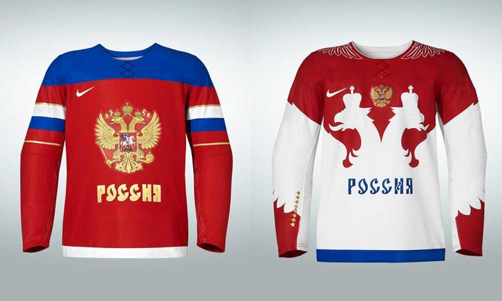 Rysslands OS-tröjor.