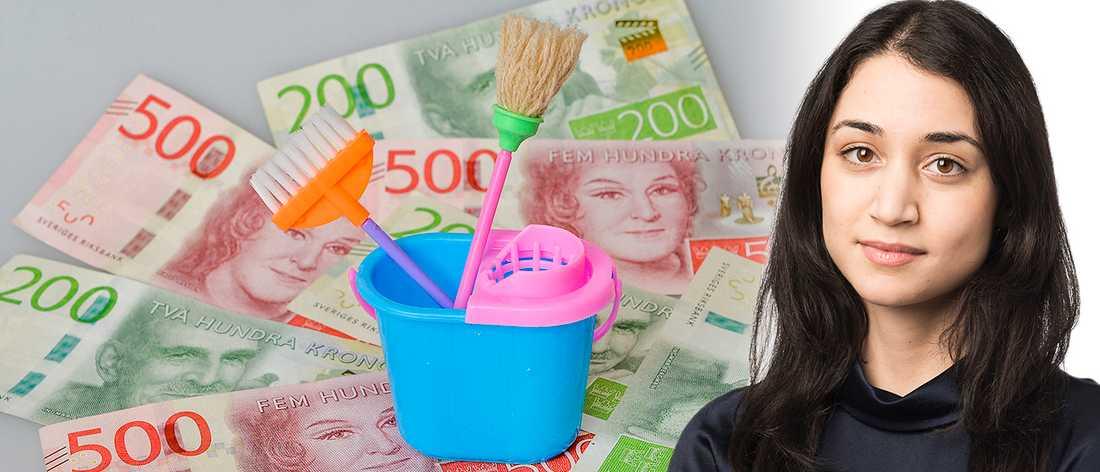 De rikaste får avdrag som resten av Sverige betalar för, skriver Aftonbladet ledares krönikör Zina Al-Dewany.