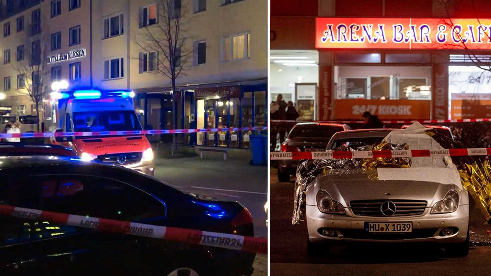 Minst tio döda i terrordåd i Tyskland