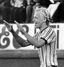 Anders Grönhagen i Djurgårdens dress 1978.