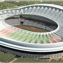 """La Peineta"" Atletico Madrids nya hemmaarena ska ta 73 000 åskådare."