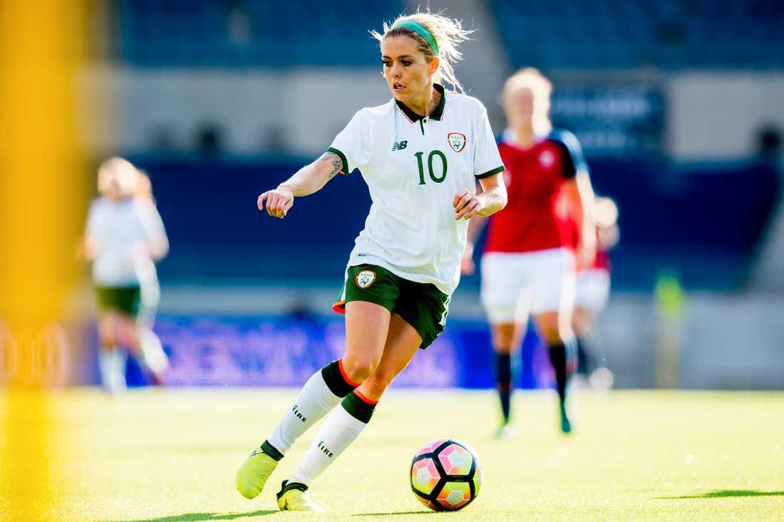 Denise O'Sullivan i Irlands landslag.