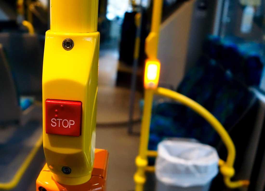 Nu varnas busschauffören av Nobina.