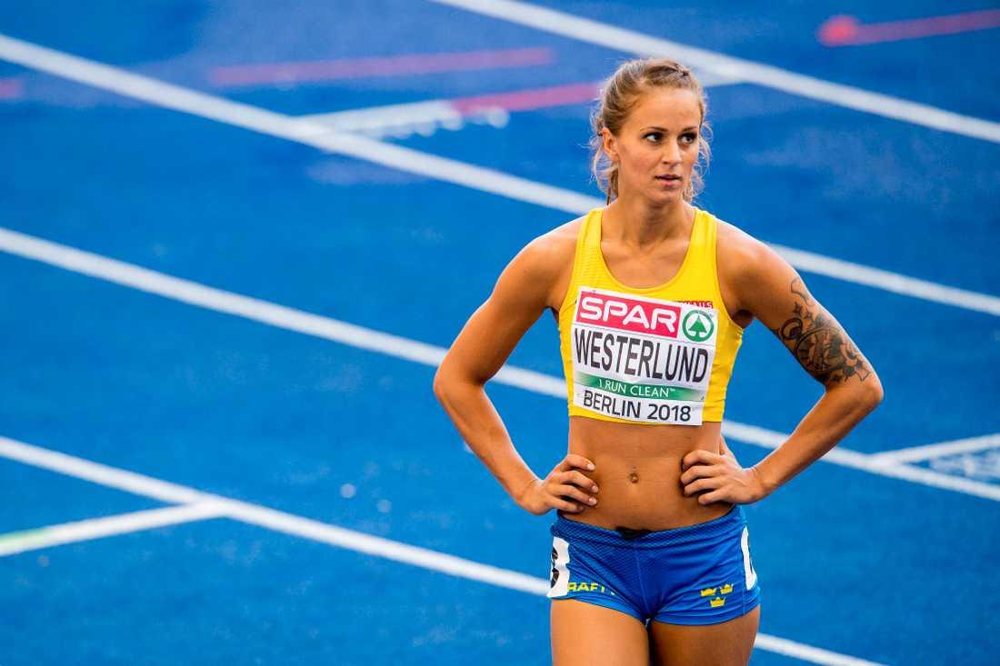 Elin Westerlund har varit en av Sveriges bästa häcklöperskor efter Susanna Kallurs avsked.