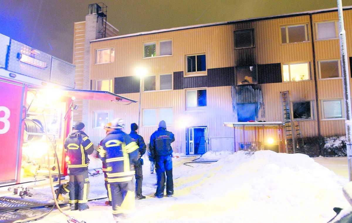 Pigge, 46, dog i den misstänkta mordbranden i Grängesberg.
