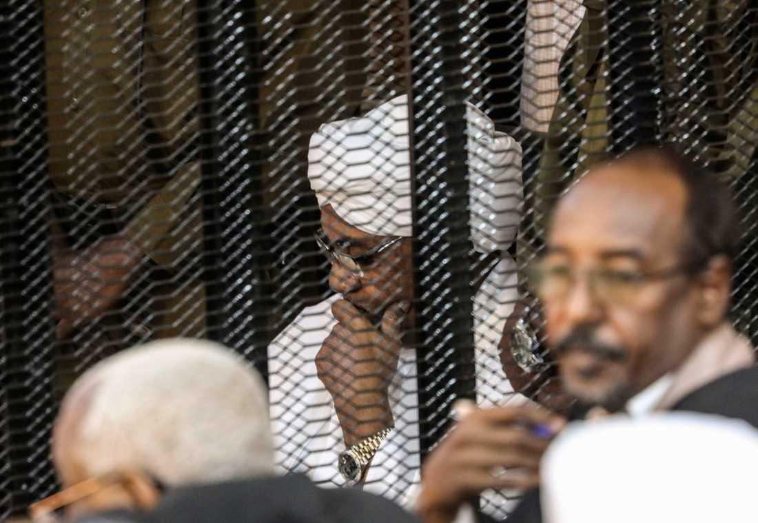 Sudans avsatte president Omar al-Bashir. Arkivbild.