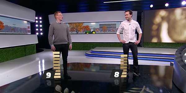 Ludwig Wickman mötte Fredrik Mammen i finalen.