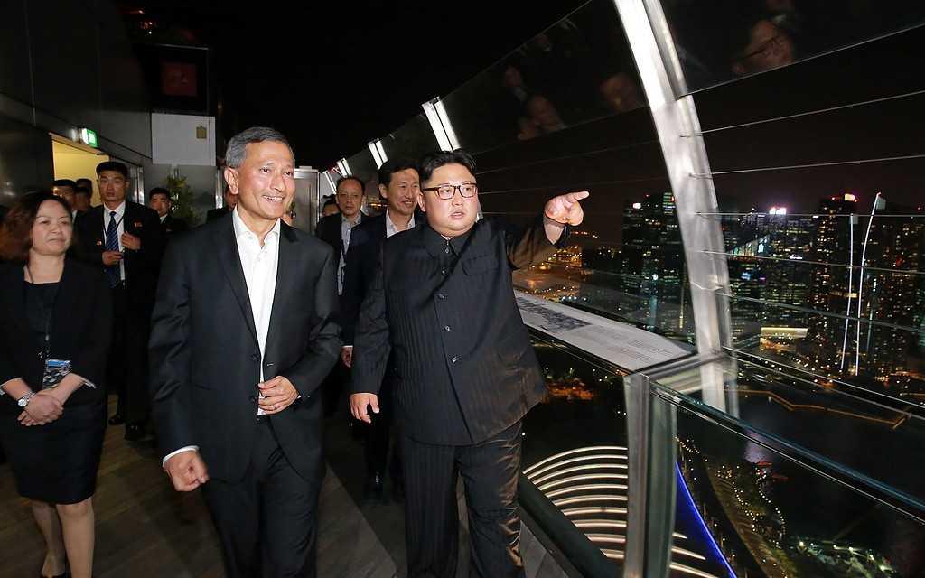 Fotografi från KCNA.