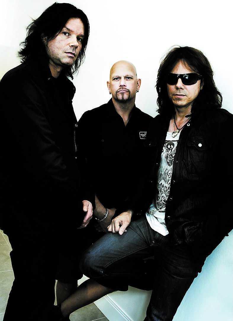 John Norum, Ian Haugland och Joey Tempest i Europe.