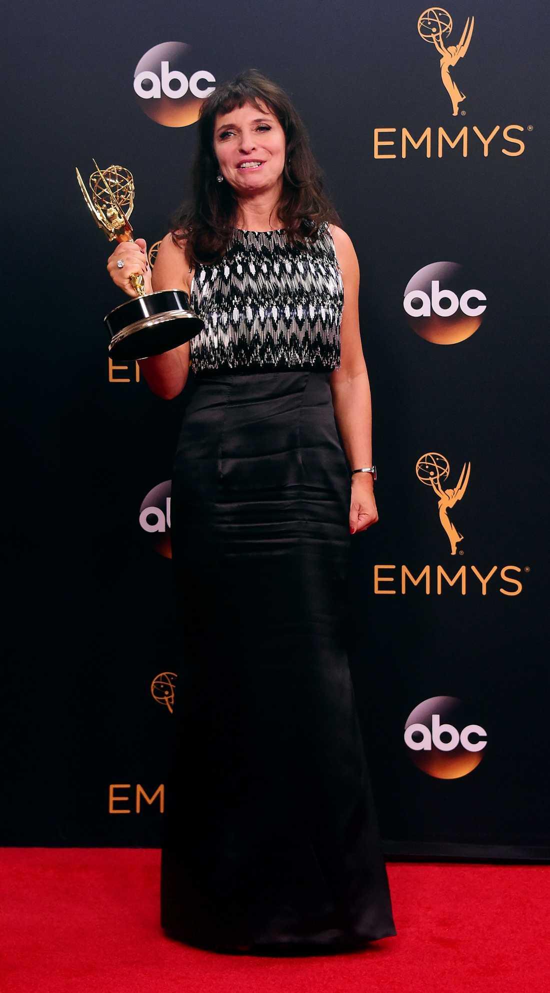 Susanne Bier fick priset för bästa regi av  miniserie