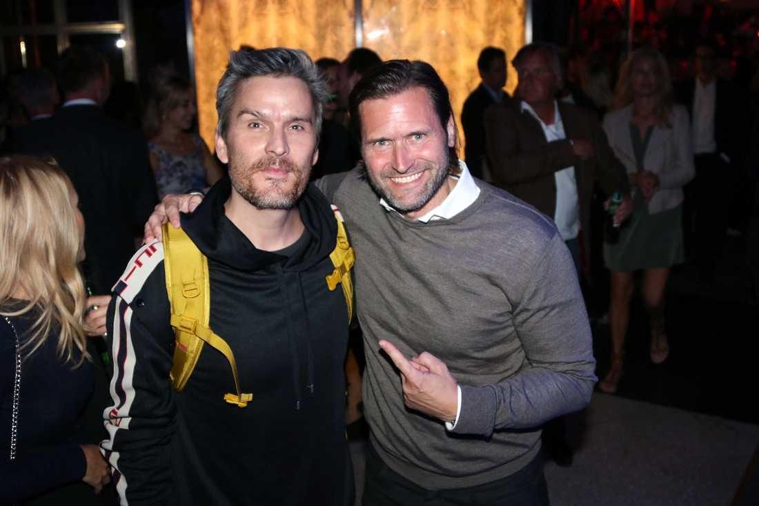 Balthazar Getty och Martin Melin.