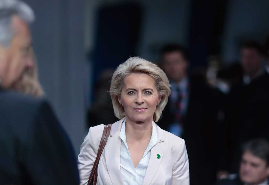 Ursula von der Leyen, Tysklands försvarsminister.