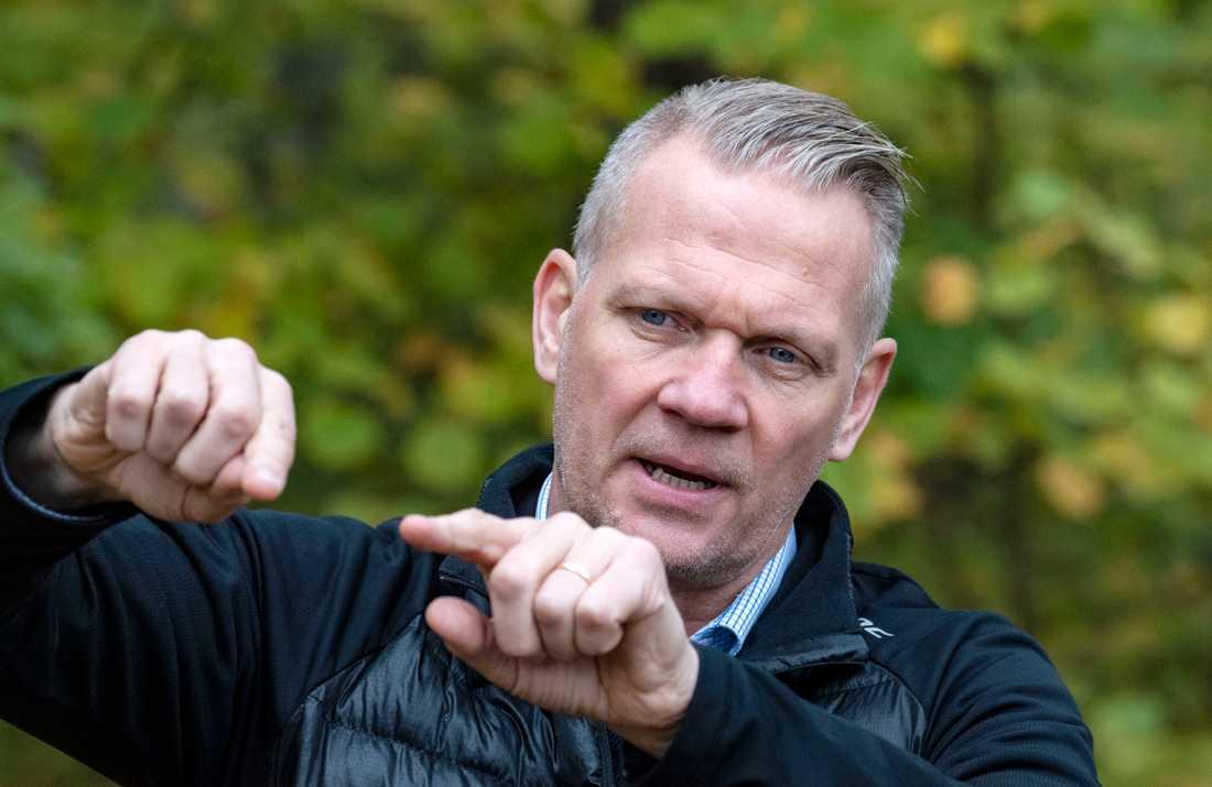 Bo Lundqvist, chef för polisens grupp för kalla fall i region Syd. Arkivbild.