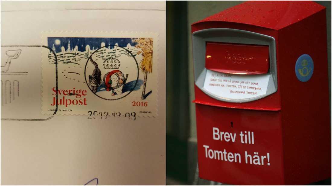 Postnord skickade ut julkorten ett år för sent.