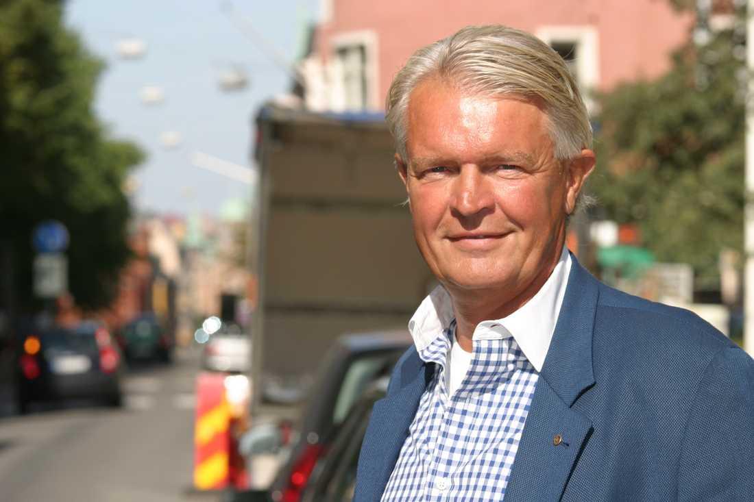 Bertil Moldén, vd för branschorganisationen Bil Sweden.