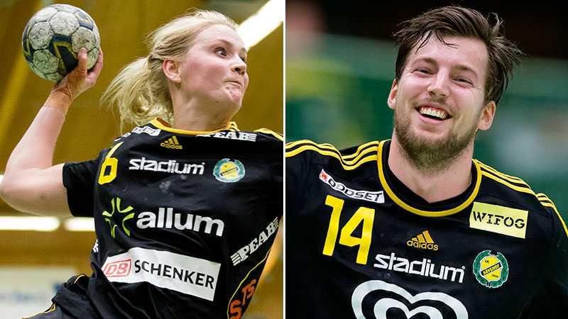 Ida Odén gjorde sju mål och Mattias Thynell åtta när Sävehofs dam och herrlag vann.