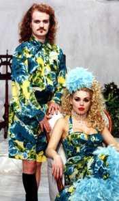 Året är 1993. Bard och Michaela de la Cour.