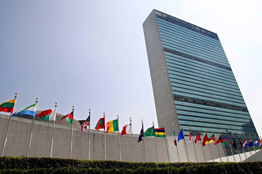 FN-skrapan i New York.
