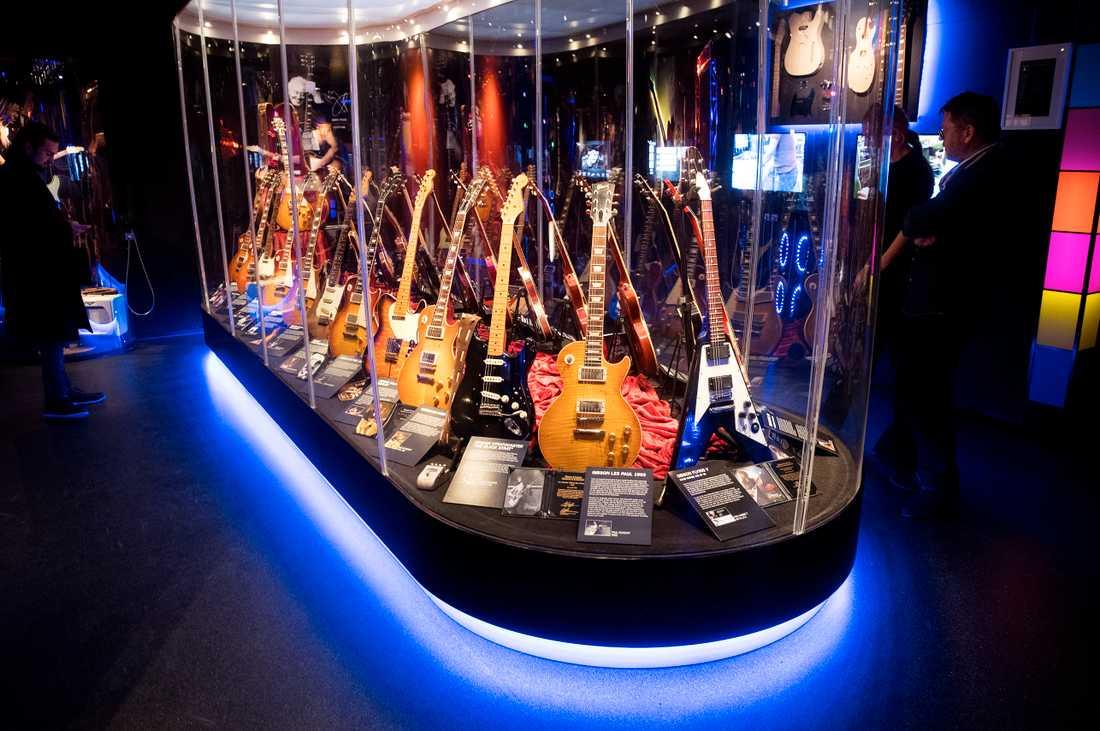 Clabbes gitarrsamling