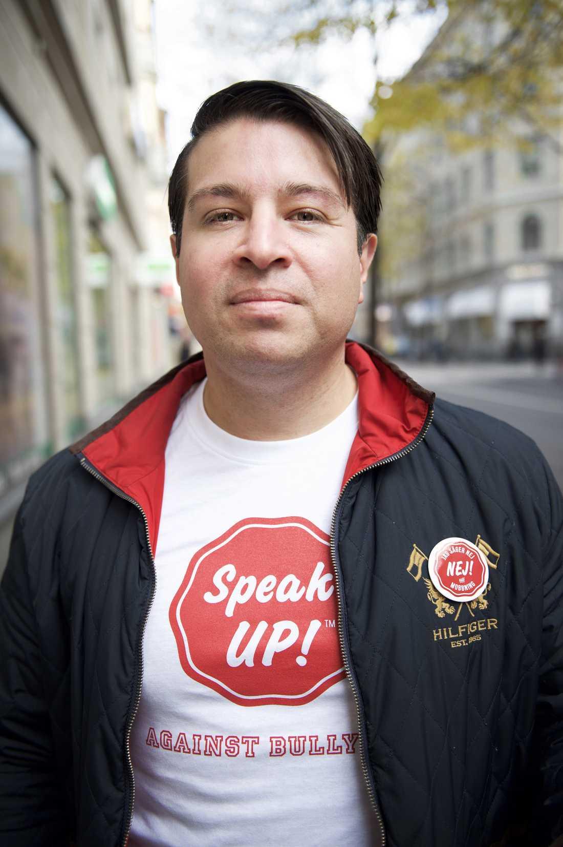 """Tobias Wernius lyssnade på skolungdomar och skapade appen """"Speak Up!"""" – nu sprider den sig över världen."""