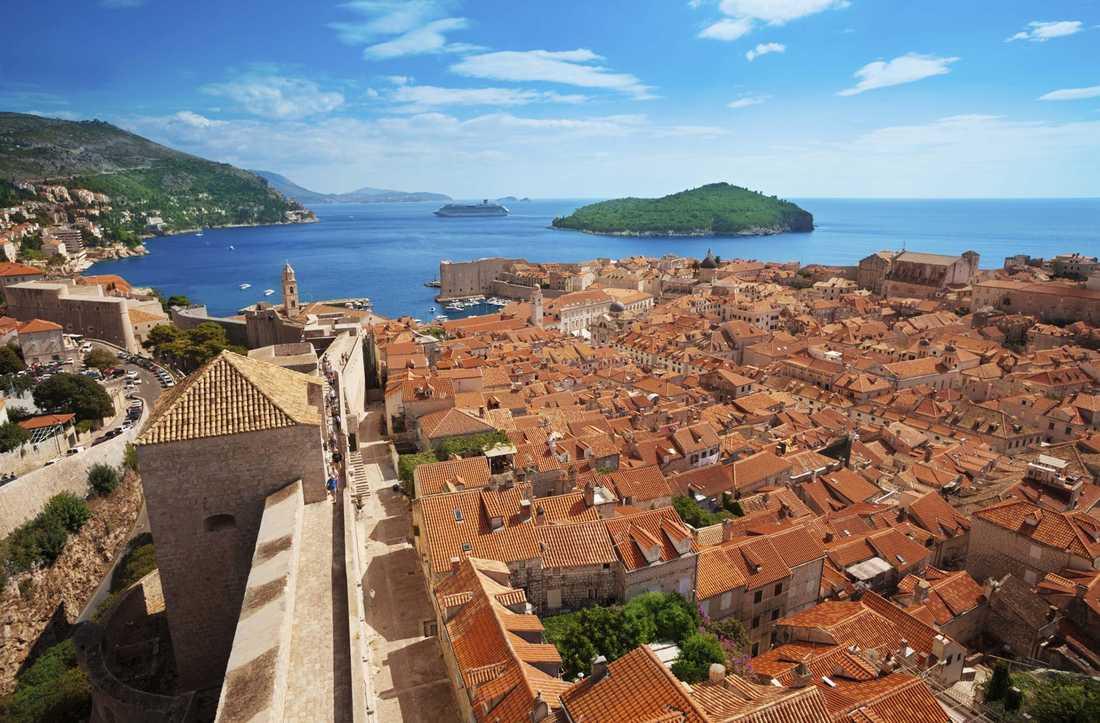 Kings Landing eller Dubrovnik? I det här fallet är det Dubrovnik, men staden användes som inspelningsplats för Game of Thrones scener i Kings Landing.