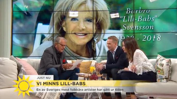 Lasse Berghagen i Nyhetsmorgon.