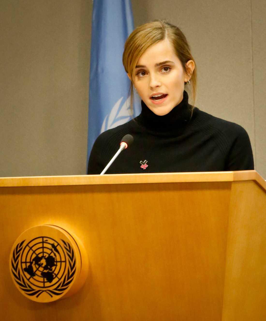 Emma Watson är aktiv feminist och FN:s goodwill-ambassadör i jämställdhetsfrågor.