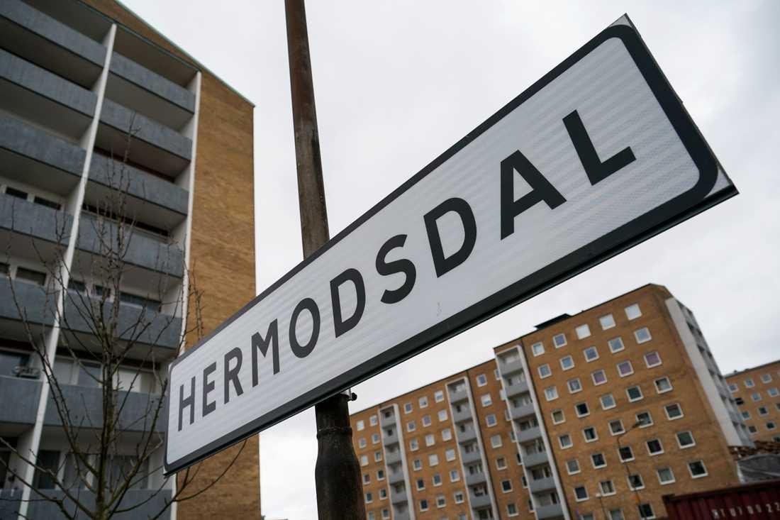 Skarpt sprängmedel hittades i en fastighet på Hermodsdal i Malmö. Arkivbild.