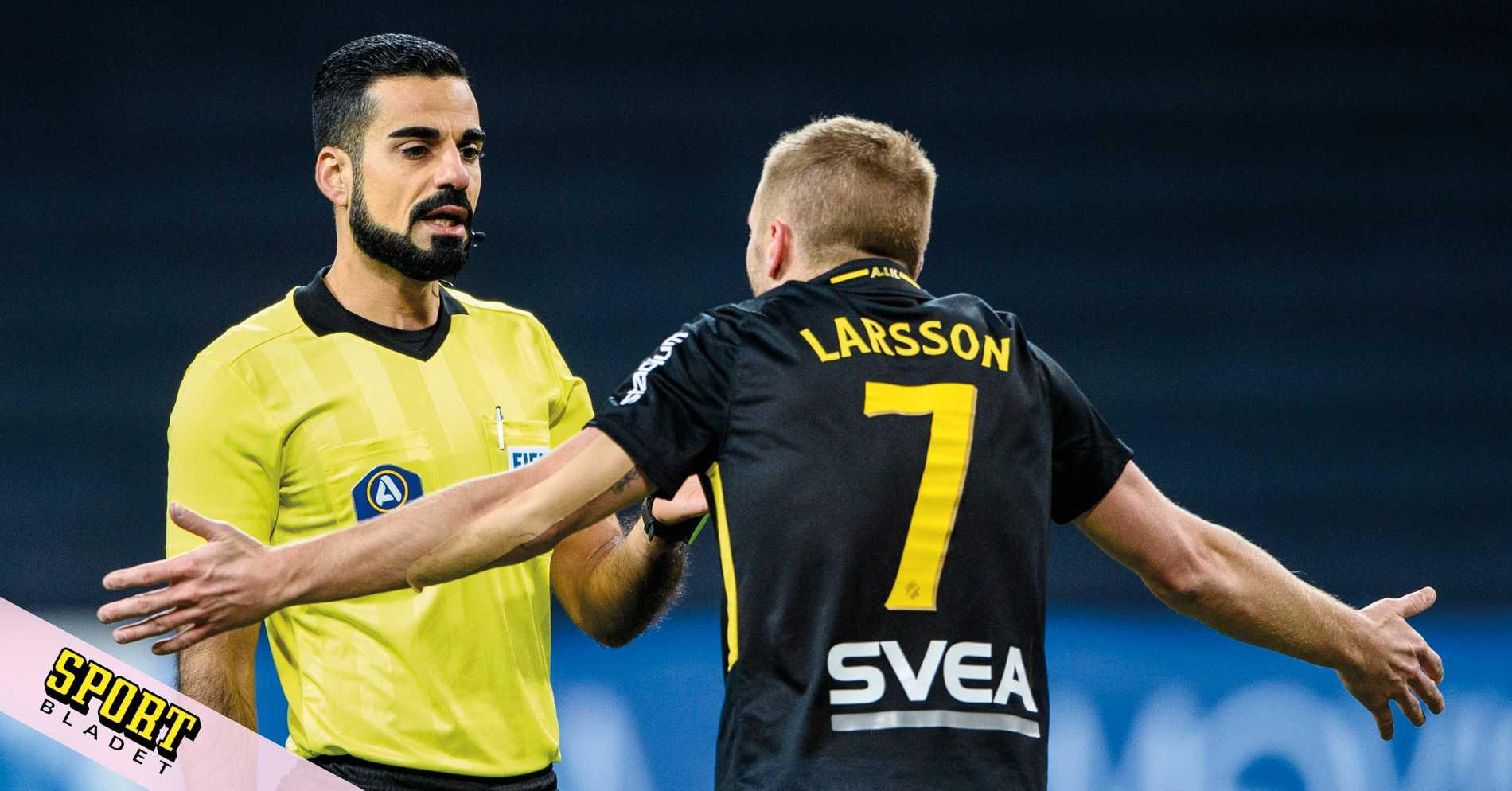 AIK-stjärnan: Om domarna är rädda? Det tror jag inte
